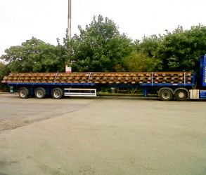 Flat Bed Rail Carrier
